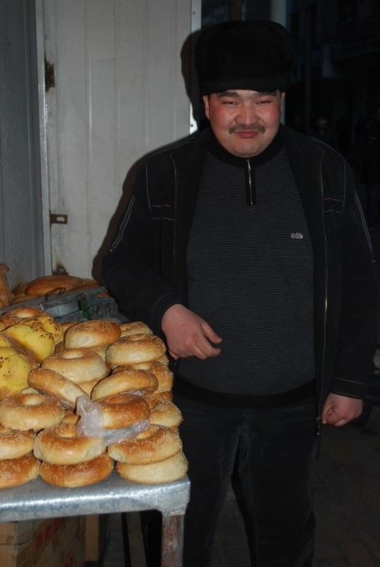 vendeur de nans, ouighour, comme moi