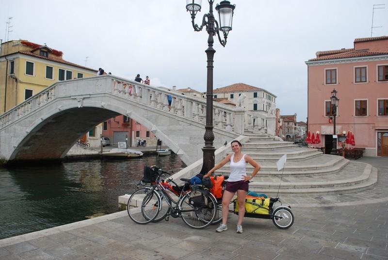 Arrivee a Chioggia, sud de la lagune
