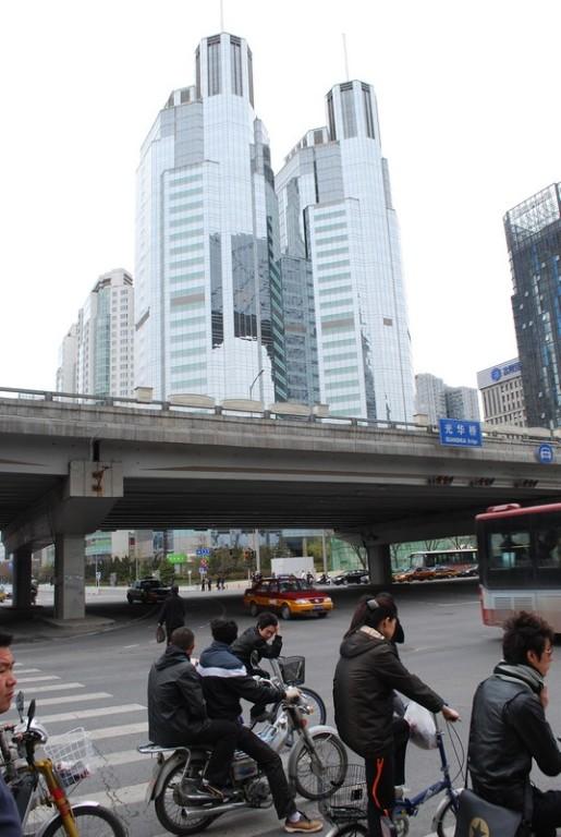 Chaoyang, quartier des affaires