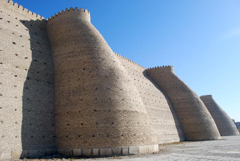 l Ark, forteresse au coeur de Boukhara