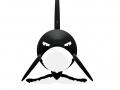 bewegende orka (JK)- zwemt mee met richting van de muis