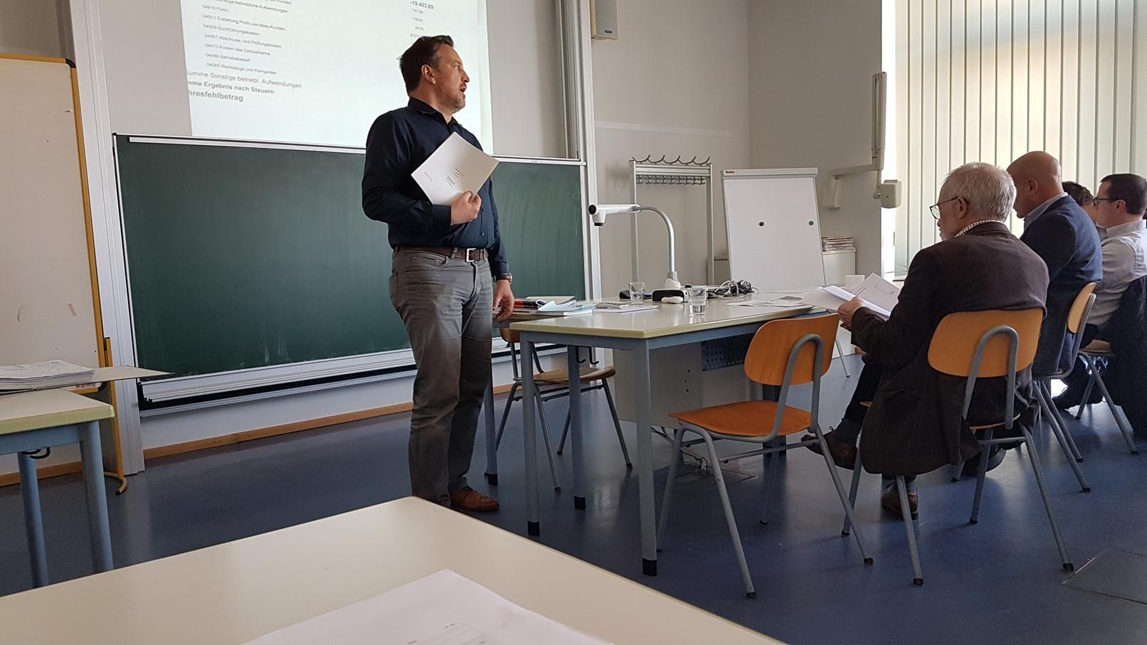 Bericht des ersten Vorsitzenden Gerd Häuber