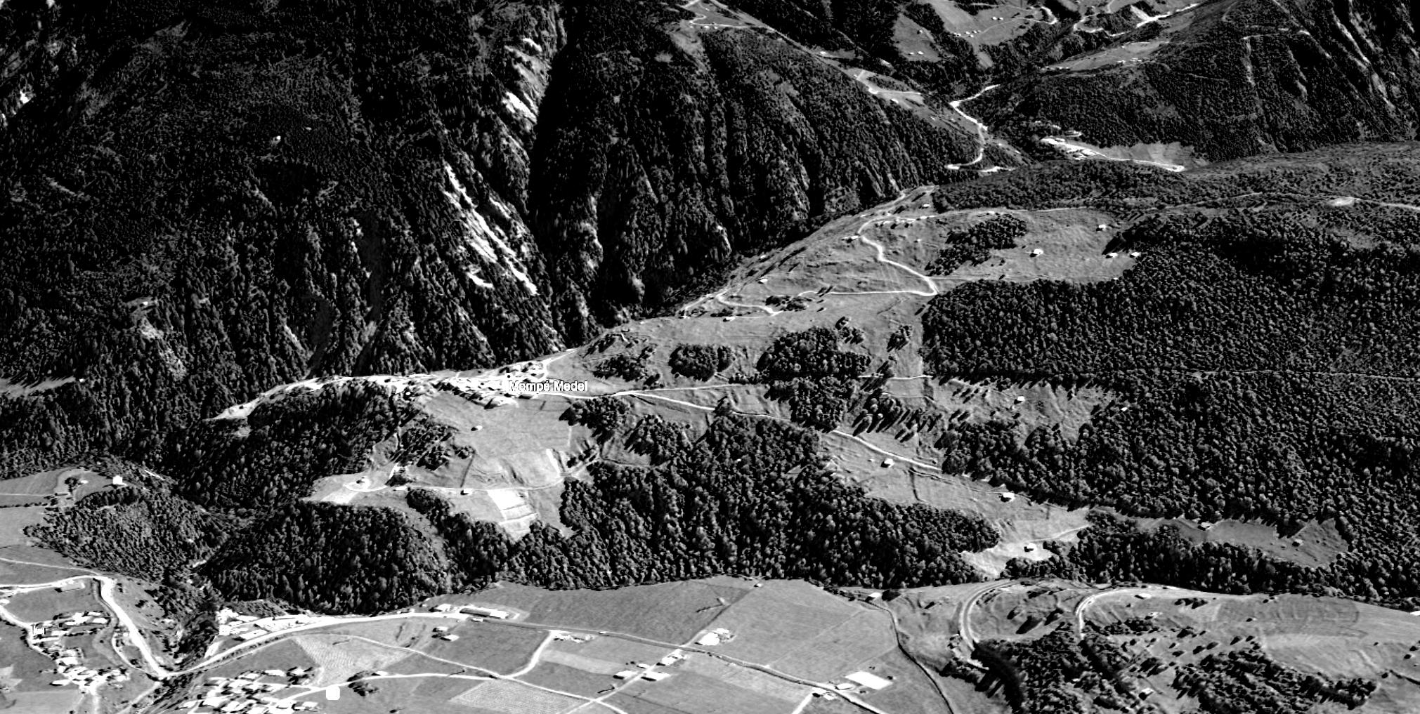 Topografie Mompé Medel