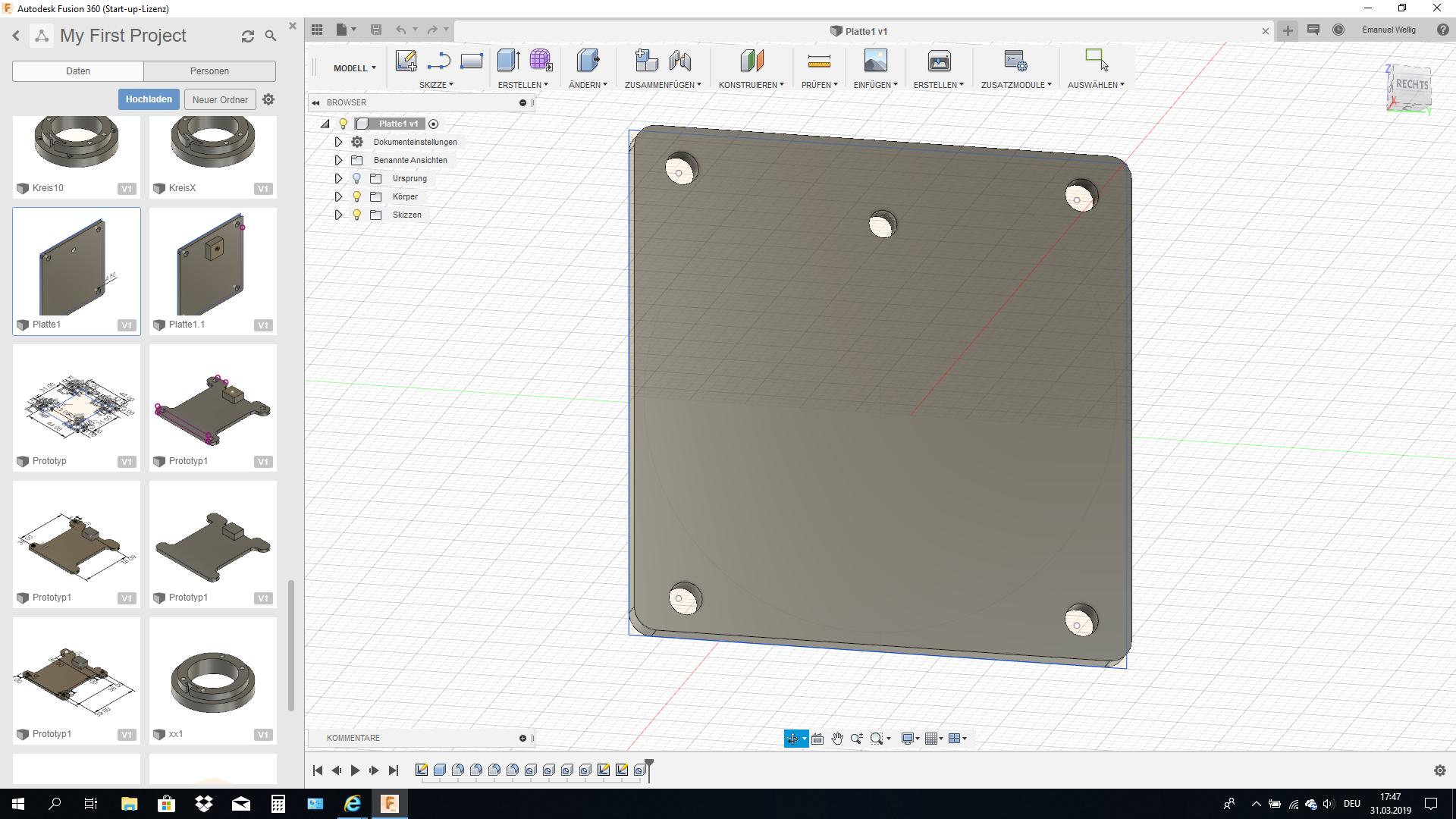 1. Prototyp