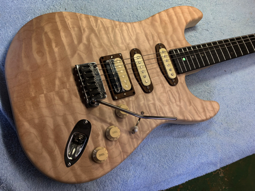 キルトSSHギター製作 30