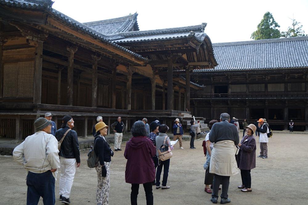 円教寺の奥には座禅堂などが点在します。