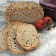 Weizenkruste mit Sesam/Chia Topping