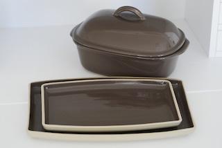 Pampered Chef Produkte, Ofenmeister und Servierplatten