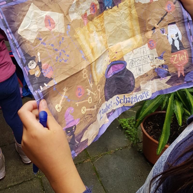 Schatzsuche Zauberer - Riesen Rätselspaß für die Geburtstagsparty