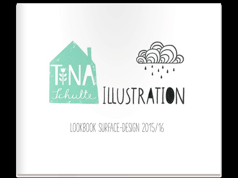 Lookbook Surface Design Tina Schulte Illustration