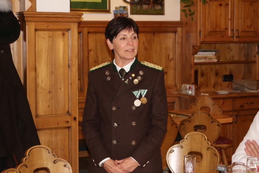Bezirksoberschützenmeisterin Anni Dietmann