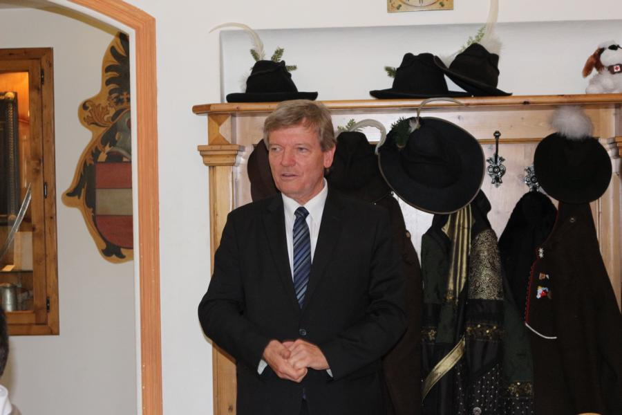 Bürgermeister Hans Schweigkofler