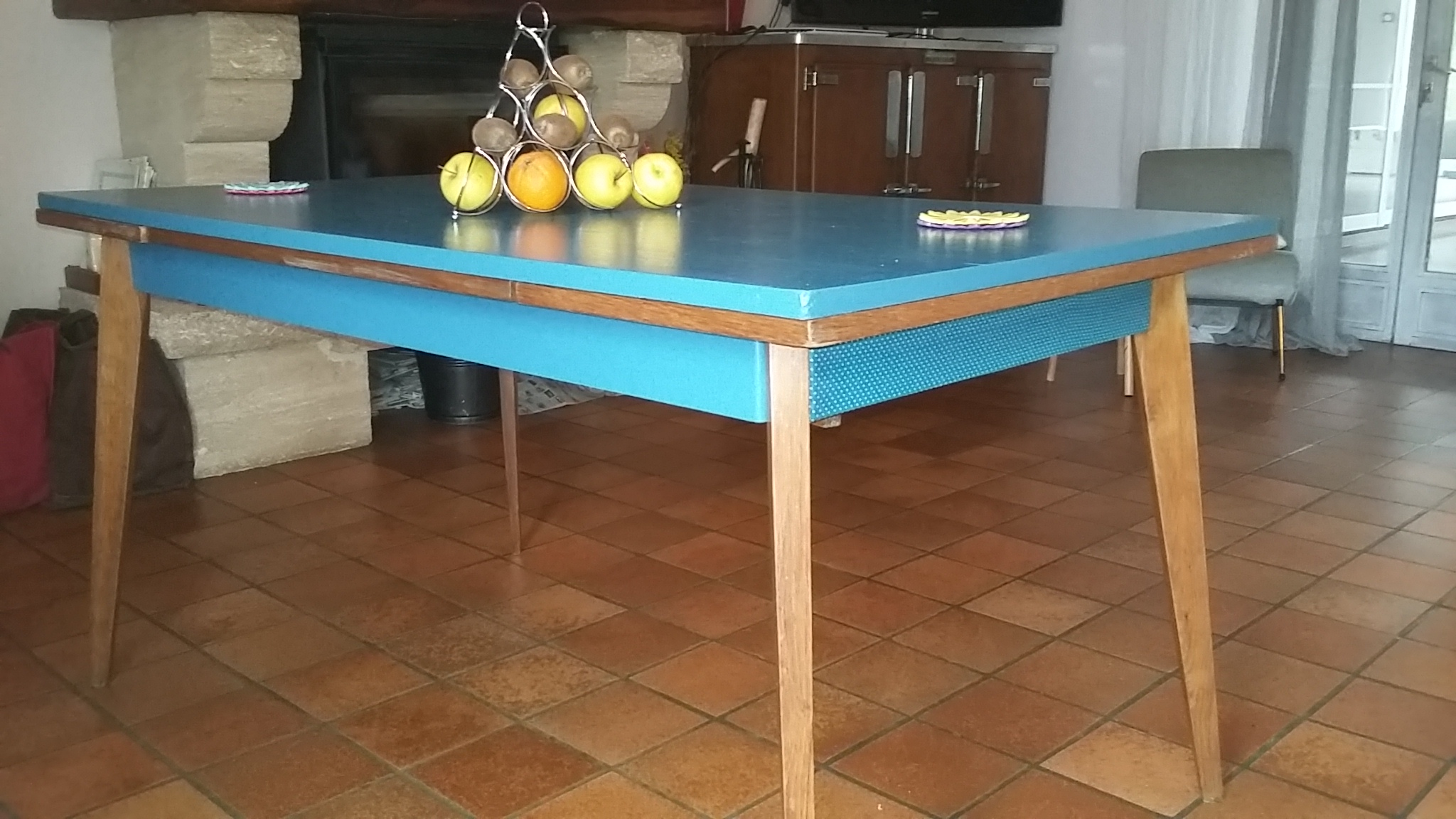 Relooking table 70'S