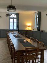 Salle à manger gîte La Baie de Somme Ferme de la Baie de Somme hébergement groupe