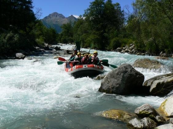 rafting eaux vives briançon