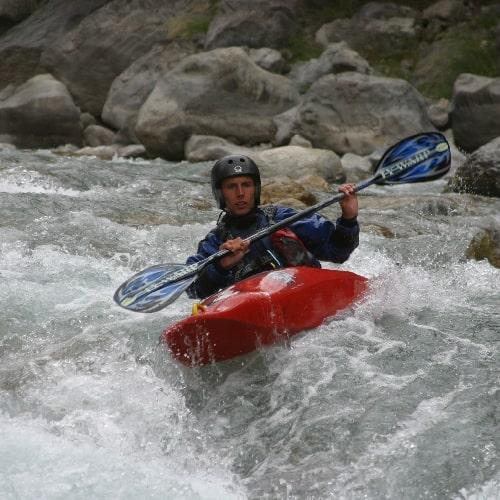 Briançon kayak
