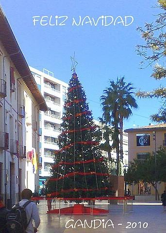 Ferienwohnung Valencia, Weihnachten 2010 in Gandia