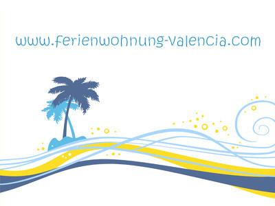Logo Ferienwohnung Valencia, fotolia.com, exotique fond blanc © NLshop