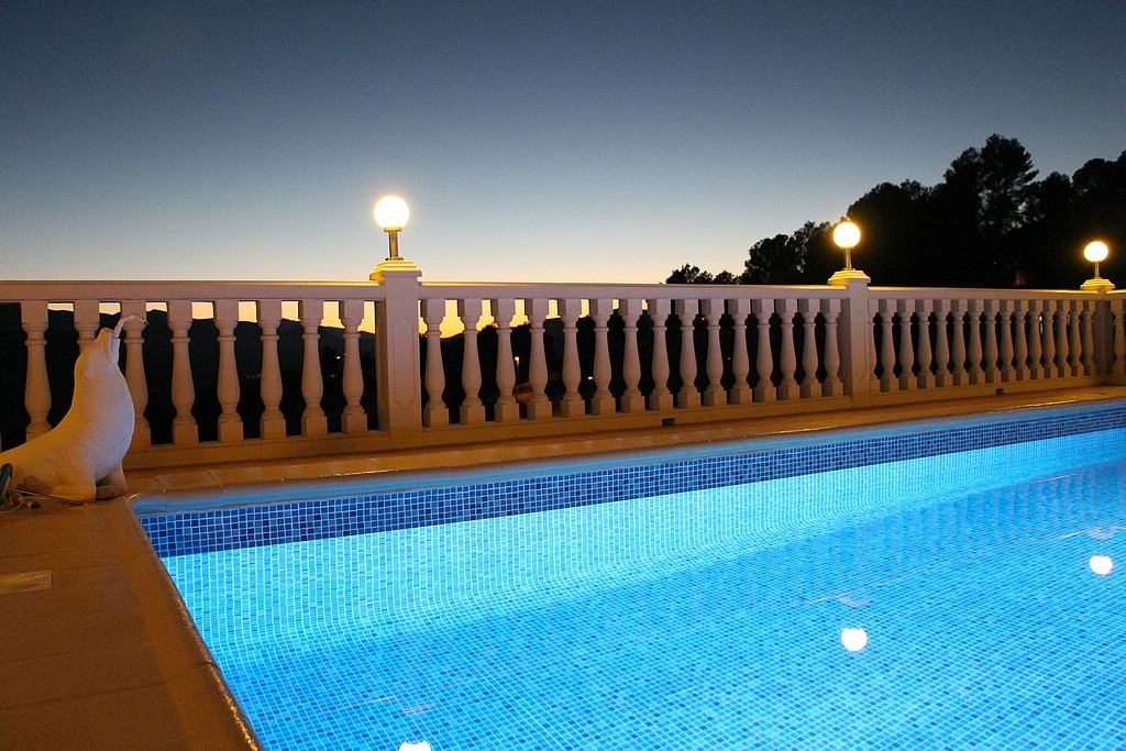 Pool, Ferienwohnung Valencia, Villa Gandia Hills, November 2013