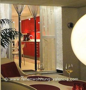 Ferienwohnung Valencia, Eingang zum Apartment