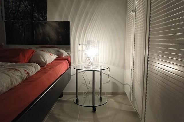Schlafzimmer der Ferienwohnung Valencia, 2012