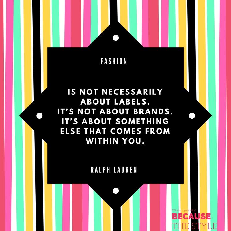 Ralph Lauren quote