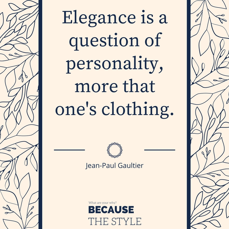 Gaultier quote