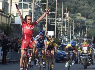 L'arrivo vittorioso di Mirko Celestino