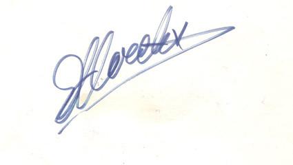 Archivio TLS, autografo originale di Eddy Merckx
