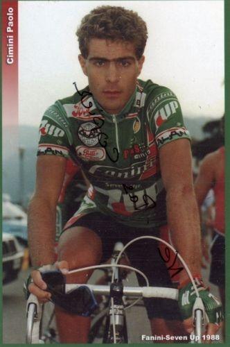 Cartolina autografa di Paolo Cimini. Collezione TLS