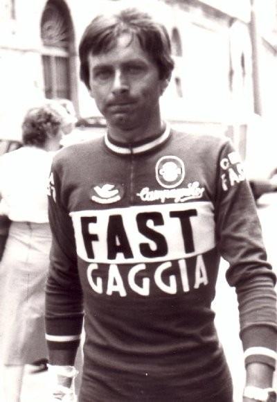 Foto courtesy: Guy Dedieu, Zanoni in maglia CBM Fast Gaggia nel 1979.