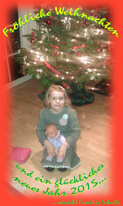 Weihnachtsgrüsse 2014