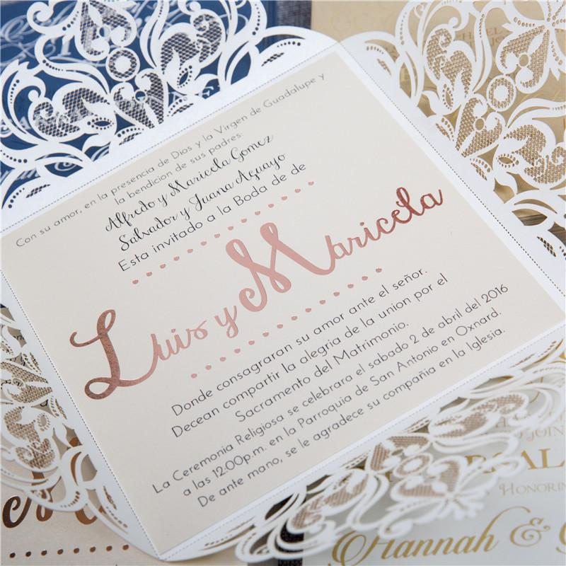 Custom Wedding Invitations Aly Am Paperie