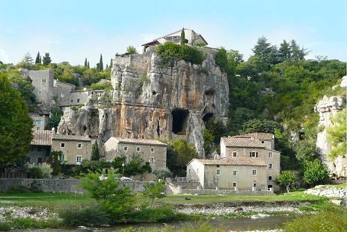 Labeaume en sud Ardèche