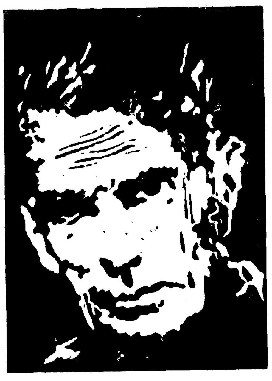 Samuel Beckett, 22 x 15 cm
