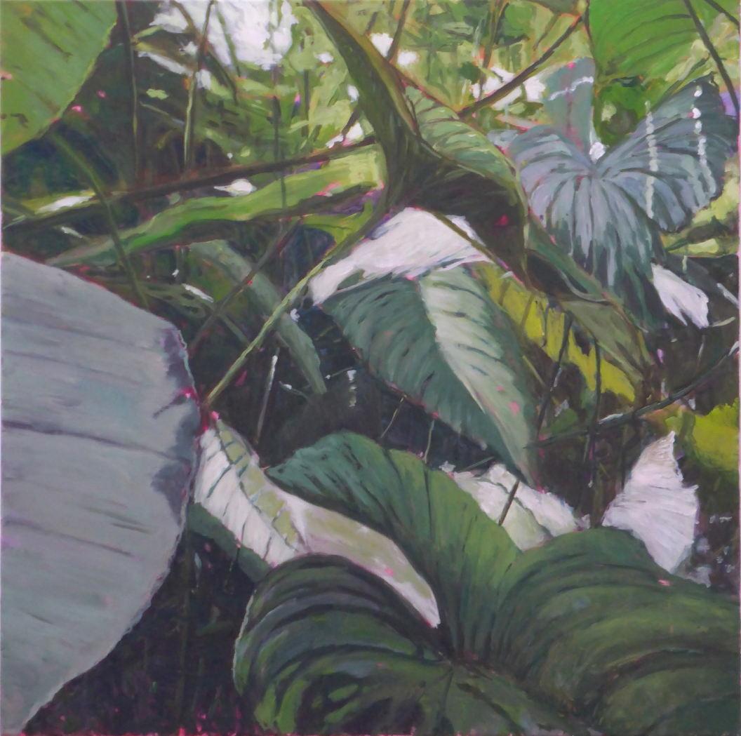 Paradise, 80 x 80 cm