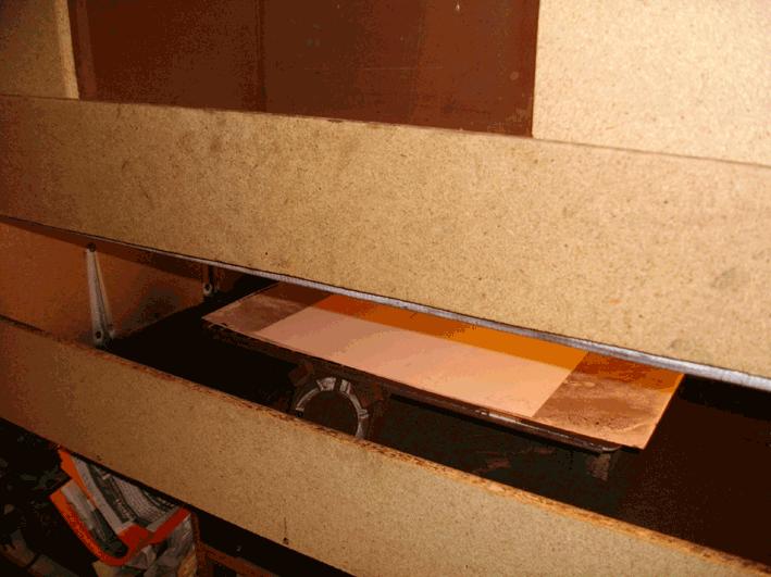 intérieur boite à grain bitume