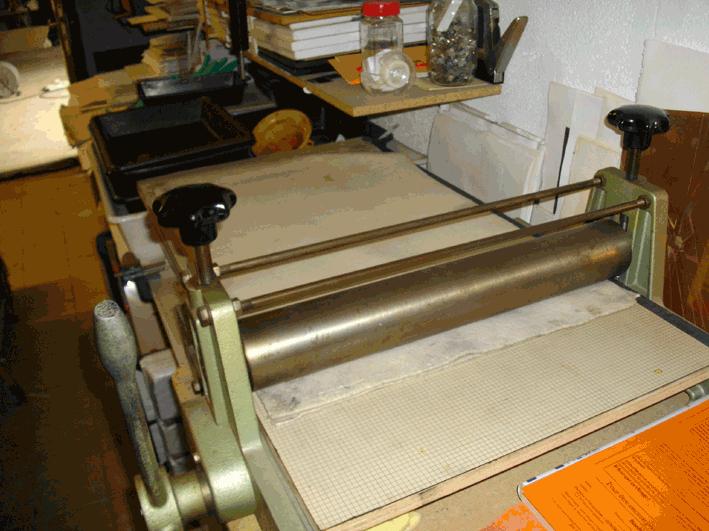 la presse taille-douce