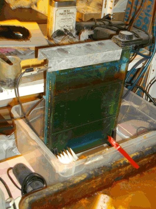 installation electrogravure