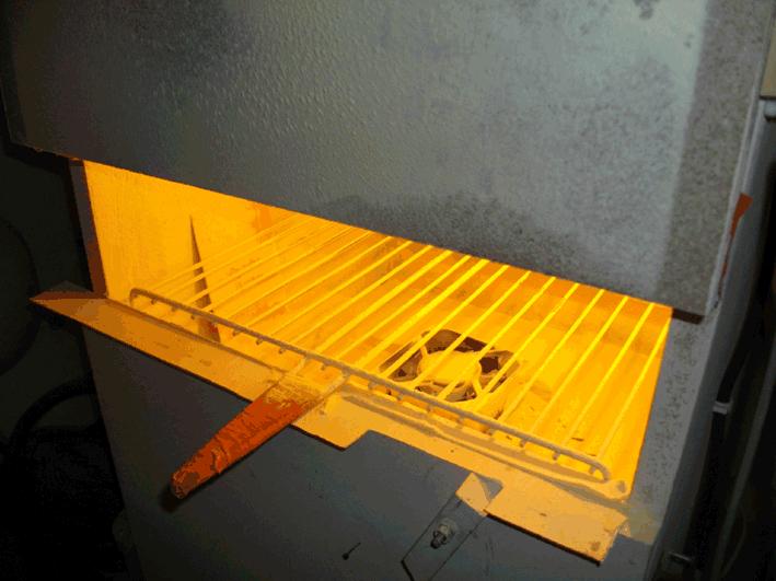 intérieur boite à grain colophane