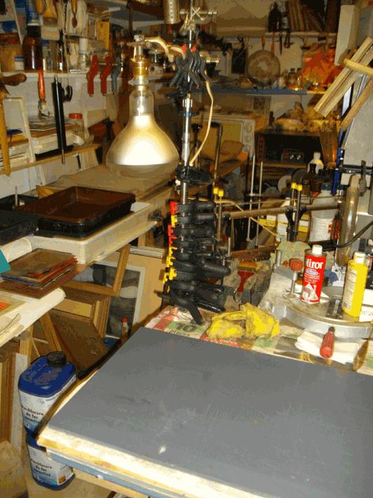 unité d'exposition uv 300 w 40 cm
