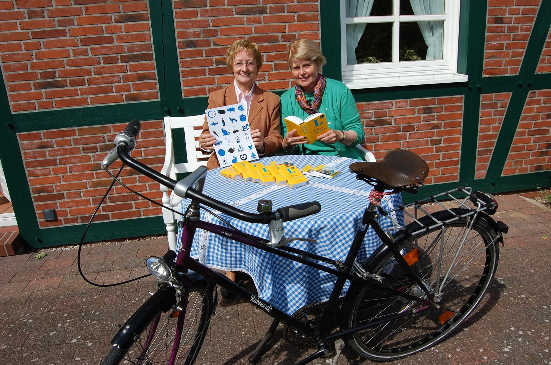 Gesucht: Fahrräder und Bildungspaten (Foto: Sabine Nitschke)