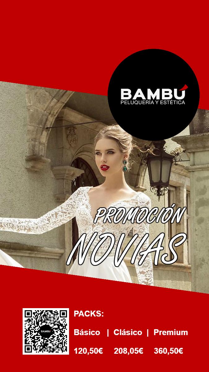 Promoción novias - Peluquerías Bambú