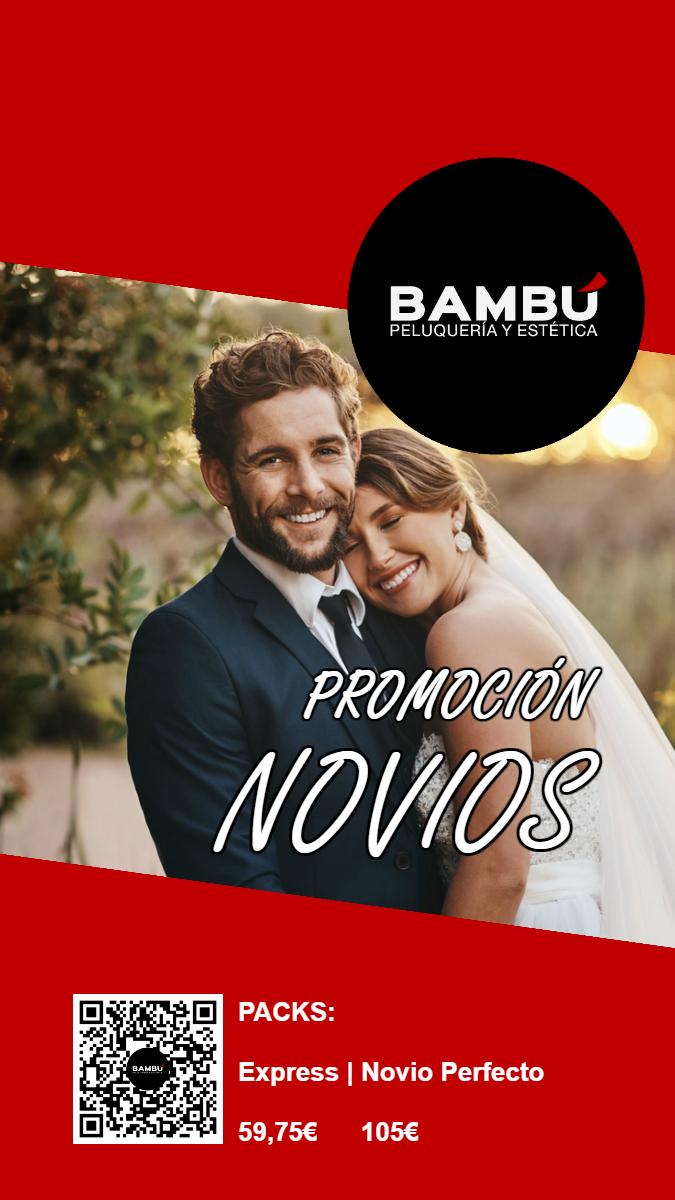 Promoción novios - Peluquerías Bambú