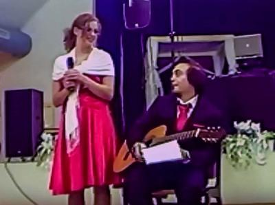 Auftritt Clarissa und Andreas Höbel