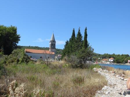 Die Kirche St. Luka in Zdrelac
