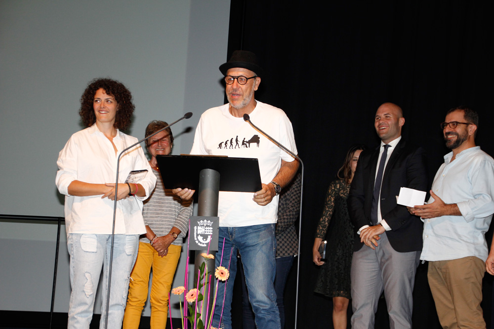 Toni Tent i Maria Mas, premi moscatell.