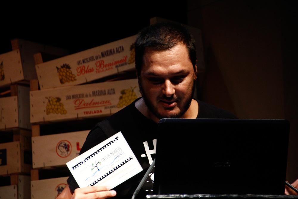 Alex rey, premi millor curt valencià.