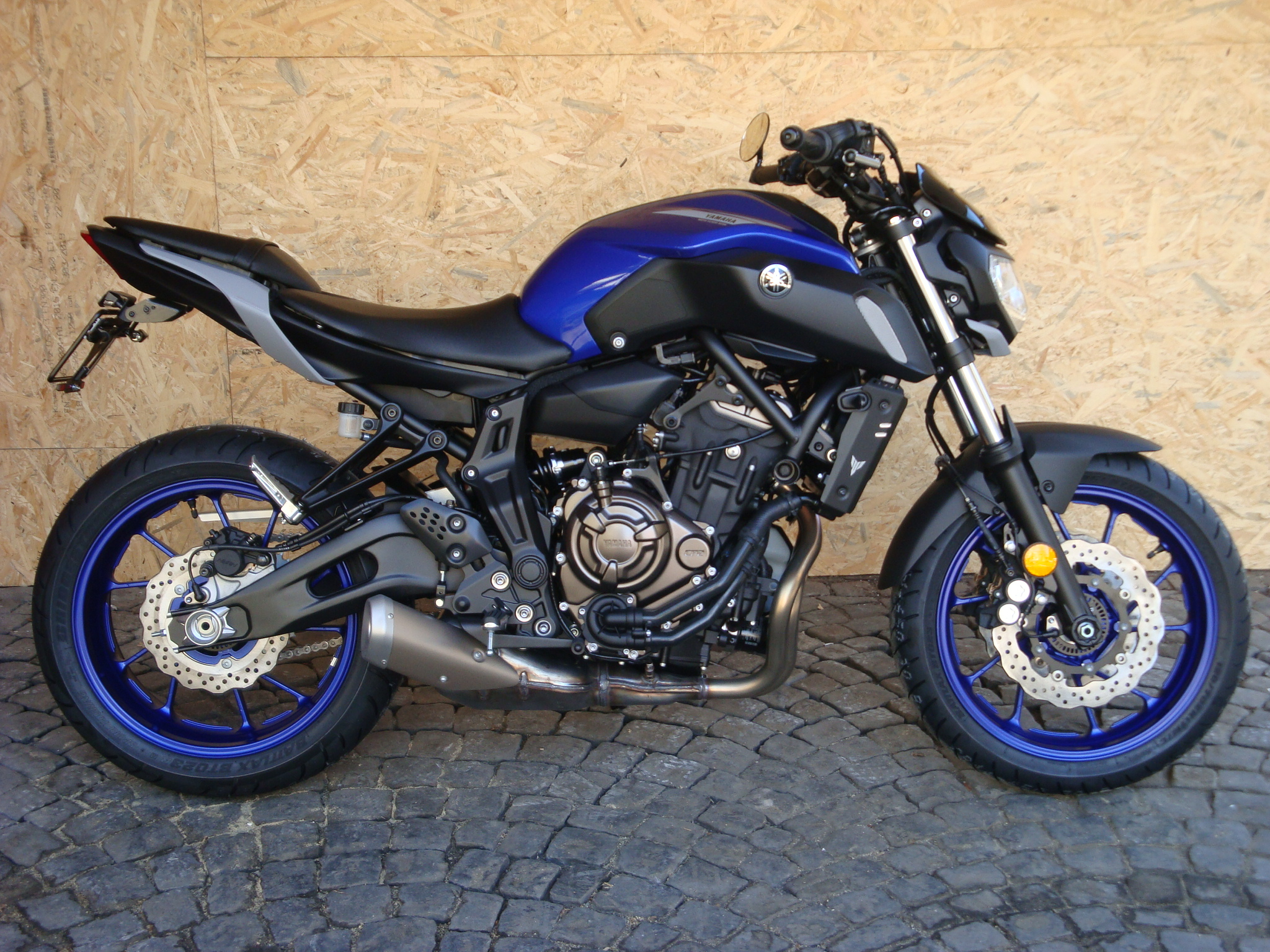 Yamaha MT 07 ABS spez. Edition
