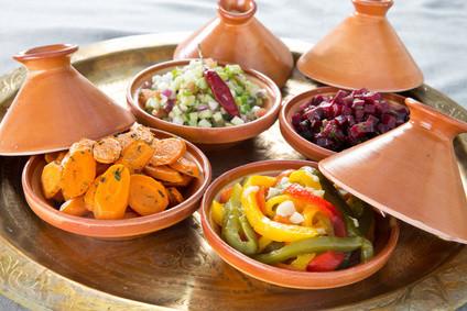 Vielfältige gesunde Speisen mit Tajine - CASAORIENT Stuttgart